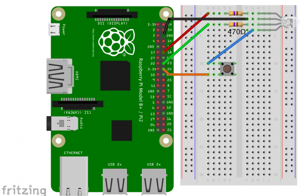 Electronics Starter Kit for Raspberry Pi - Monk Makes