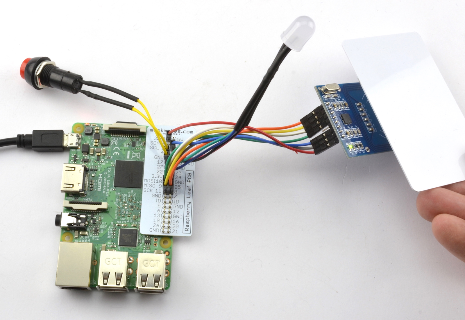 Clever Card Kit for Raspberry Pi - Monk Makes